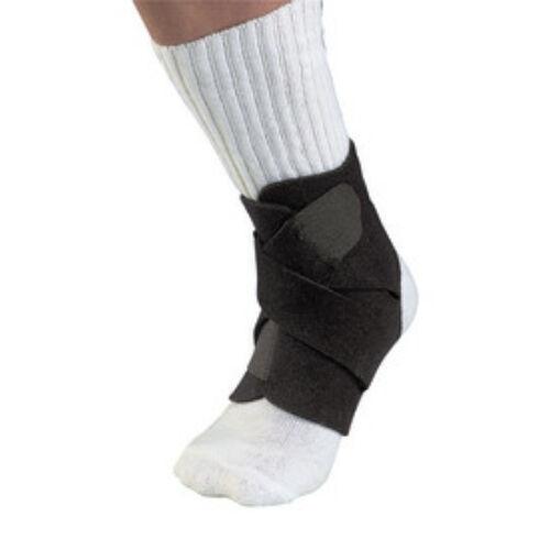 Mueller bokarögzító, keresztpántos - Adjustable Soccer Ankle Support